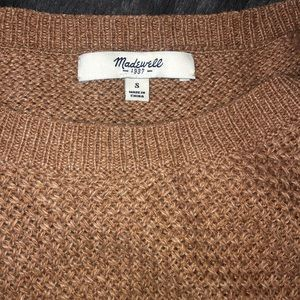Madewell Sweaters - Madewell Chronicle Brown Sweater Small